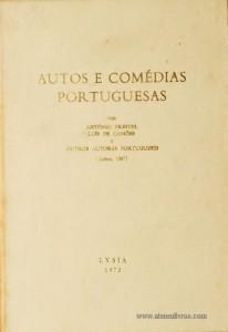 Autos e Comédias Portuguesas
