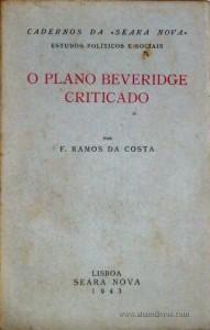 O Plano Beveridge Criticado