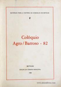 Colóquio Agro/Barroso - 82