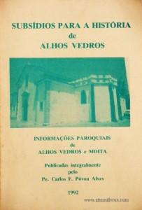 Subsídios Para a História de Alhos Vedros
