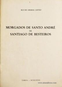 Morgados de Santo André de Santiago de Besteiros