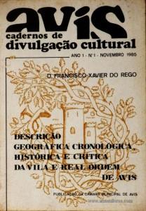 Descrição Geográfica Cronológica Histórica e Crítica da Vila e Real Ordem de Avis