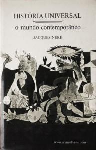 História Universal - O Mundo Contemporâneo