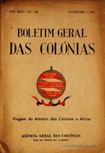Viagem de S. Ex.ª o Ministro das Colónias a Africa, em 1945