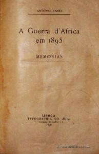 A Guerra D'Africa em 1895