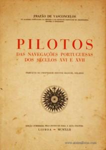 Pilotos das Navegçãoes Portuguesas dos Séculos XVI e XVII