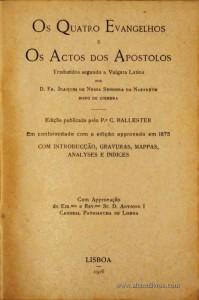 Os Quatro Evangelhos e  Os Actos dos Apostolos