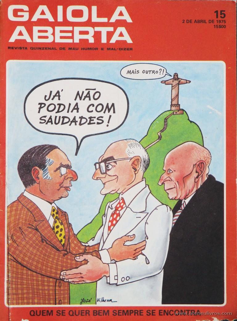 Gaiola Aberta - n.º 15 - «€5.00»