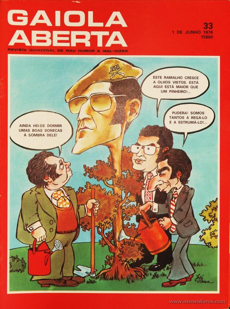 Gaiola Aberta - n.º 33 - «€5.00»