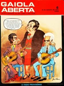 Gaiola Aberta - n.º 6 - «€5.00»