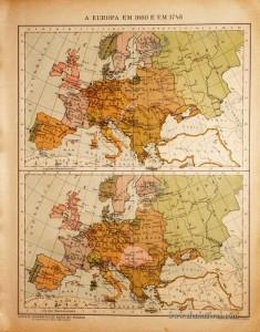 A Europa em 1660 e em 1748 «€5.00»
