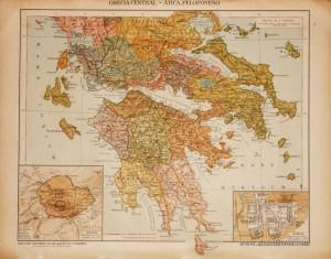Grécia Cental Ática, Peloponeso «€5.00»