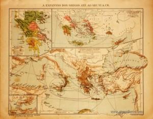 A Expanção dos Gregos até ao Séc.VI A:CR «€5.00»