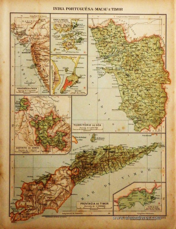 India Portuguêsa - Macau e Timor «€5.00»