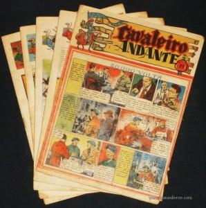 Cavaleiro Andante nº 80, 82, 85, 86, 89 - Cada - «€5.00»