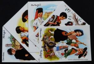 [5] Postais - Traje folclórico - «€5.00»