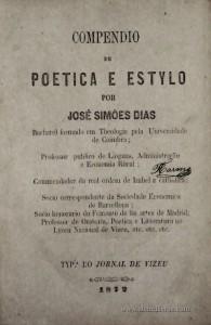 Compendio da Poetica e Estylo