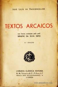 Textos Arcaicos