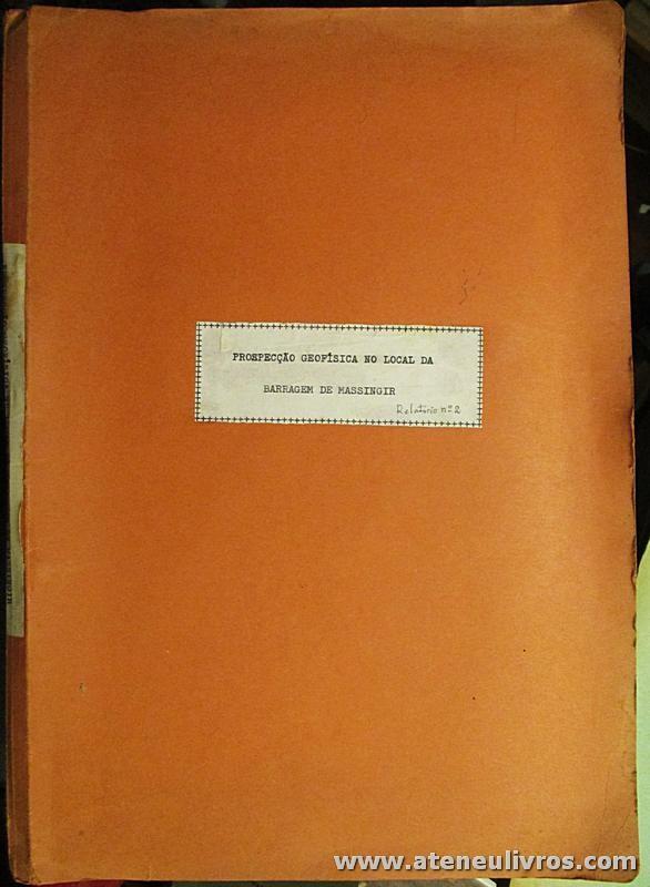 Prospecção Geofísica no Local da Barragem de Massingir (Relatório - II Parte)