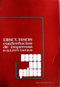 Discursos Conferencias de Imprensa Entrevistas
