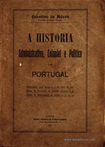 A História Administração, Colonial e Politica de Portugal