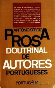 Prosa Doutrinal de Autores Portugueses