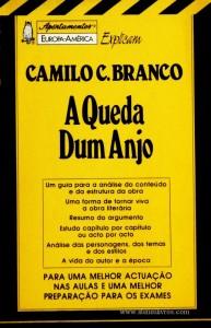 Camilo Castelo Branco - A Queda Dum Anjo - «€5.00»