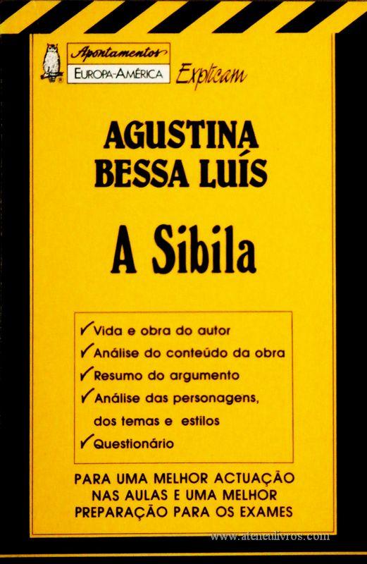 Agustina Bessa Luís - A Sibila - «€5.00»