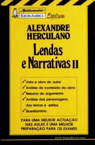 Alexandre Herculano - Lendas e Narrativas II - «€5.00»