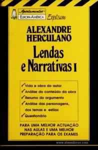 Alexandre Herculano - Lendas e Narrativas I - «€5.00»