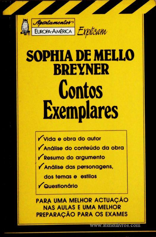 Sophia de Mello Breyner - Contos Exemplares «€5.00»