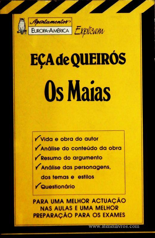 Eça de Queiroz - Os Maias - «€5.00»