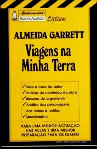 Almeida Garrett - Viagens na Minha Terra - «€5.00»