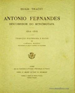 António Fernandes Descobridor do Monomotapa 1514-1515