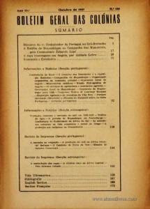 Boletim Geral das Colónias – Ano 22.ª – Agosto/Setembro de 1946 – N.º 254/255 – Agencia Geral das Colónias – Lisboa – 1946. Desc. 201 pág. / 22,5 cm x 16 cm / Br «€12,50