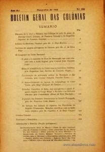 Boletim Geral das Colónias – Ano 21.ª – Fevereiro de 1945 – N.º236 – Agencia Geral das Colónias – Lisboa – 1945. Desc. 345 pág. / 22,5 cm x 16 cm / Br «€15,00»
