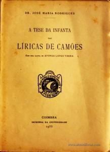 A Tese da Infanta das Líricas de Camões