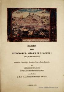 Registos dos Reinados de D. João II e de D. Manuel I