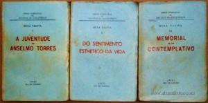Musa Tacita - A Juventude de Anselmo Torres / Do Sentimento Esthetico da Vida /Memorial de Um Contemplativo