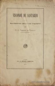 Visconde de Santarém - Apontamentos Para a sua Biographia