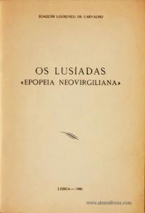 Os Lusíadas «Epopeia Neovirgiliana»