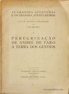 Peregrinações de André de Faro a Terra dos Gentios