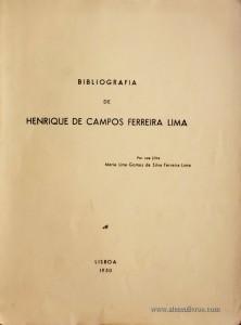 Bibliografia de Henrique de Campos Ferreira Lima