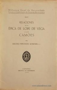 Relaciones de La Épica de Lope de Vega y la de Camões