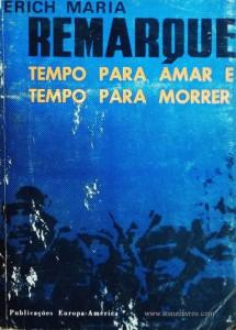 Remarques - Tempo Para Amar e Tempo para Morrer «€5.00»