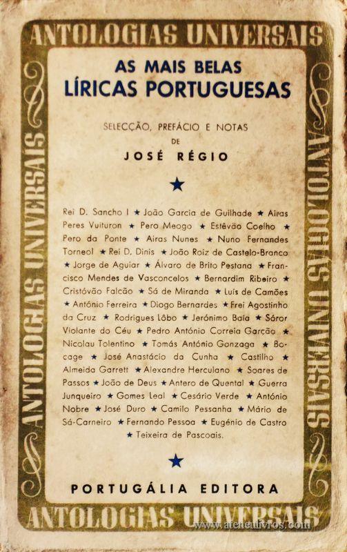 As Mais Belas Líricas Portuguesas «€5.00»