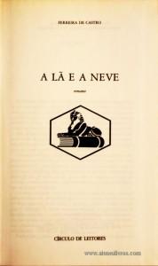 A Lá e a Neve «€5.00»