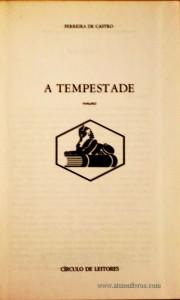 A Tempestade «€5.00»