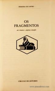 Os Fragmentos «€5.00»