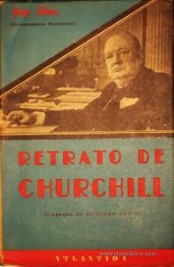 Retrato de Churchill